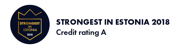 Strongest in Estonia 2018 Ryynänen Consulting OÜ